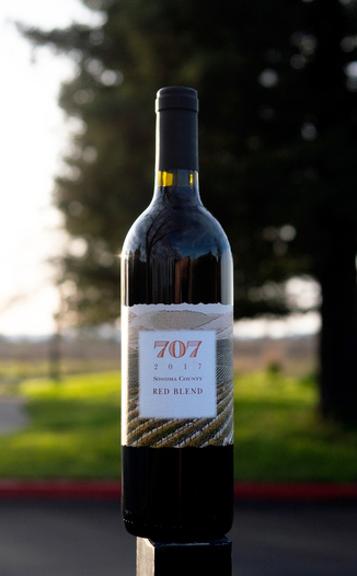 Chateau Diana 2017 '707' Sonoma County Red Blend 750ml Wine Bottle