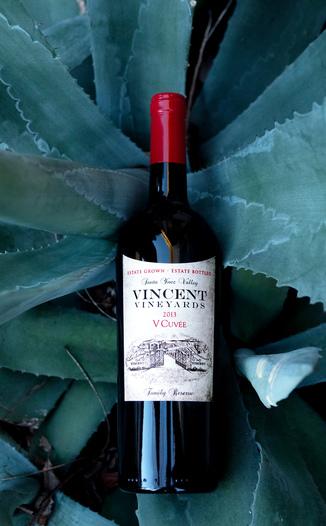 Vincent Vineyards & Winery 2013 'V Cuvée' Santa Ynez Valley Cabernet Blend 750ml Wine Bottle