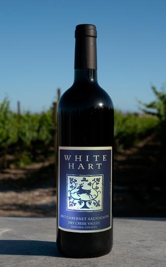 White Hart 2017 Dry Creek Valley Cabernet Sauvignon 750ml Wine Bottle