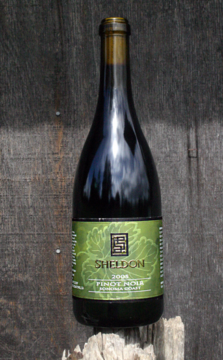 Sheldon Wines 2005 Sonoma Coast Pinot Noir 750ml Wine Bottle