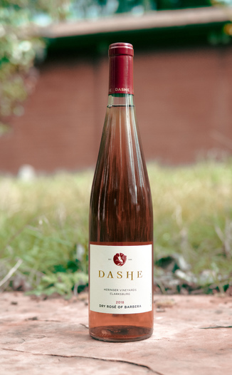 Dashe Cellars 2018 Heringer Vineyard Clarksburg Dry Rosé of Barbera 750ml Wine Bottle