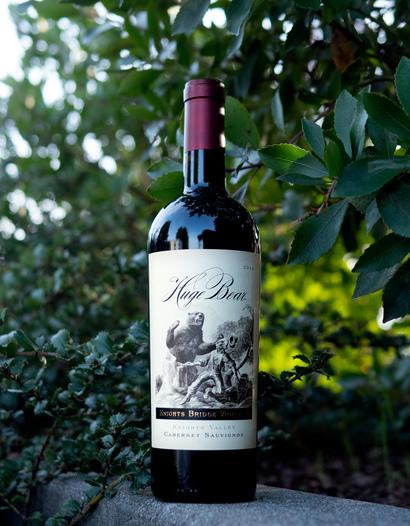 Huge Bear Wines 2014 Knights Bridge Vineyard Knights Valley Cabernet Sauvignon 750ml Wine Bottle