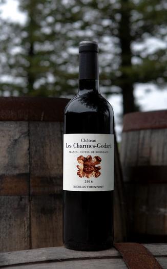 Château Les Charmes-Godard 2016 Francs Côtes de Bordeaux AOC 750ml Wine Bottle