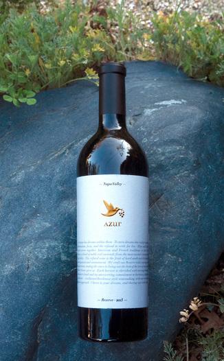 Azur Wines 2015 Reserve Napa Valley Cabernet Blend 750ml Wine Bottle