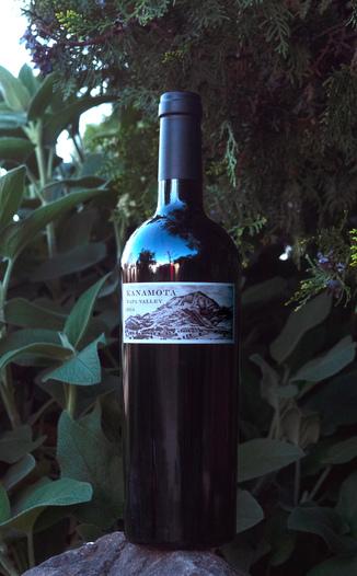 Kanamota 2014 Napa Valley Cabernet Sauvignon 750ml Wine Bottle