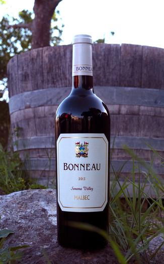 Bonneau Wines 2013 Sonoma Valley Malbec 750ml Wine Bottle