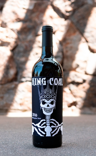 Charles Smith Wines 2016 K Vintners 'King Coal' Cabernet Blend 750ml Wine Bottle