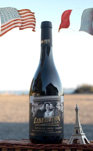 Badet Clément 2016 'Libération de Paris' Côtes du Rhônes AOC 750ml Wine Bottle