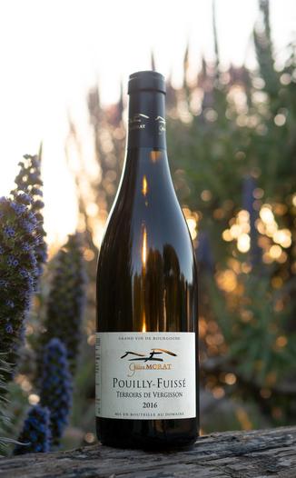 Domaine Gilles Morat 2016 'Terroirs de Vergisson' Pouilly-Fuissé AOC 750ml Wine Bottle