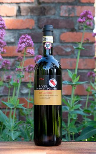 Rocca di Montegrossi 2014 'Vigneto San Marcellino' Chianti Classico Gran Selezione DOCG 750ml Wine Bottle