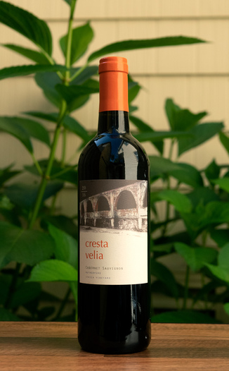 Cresta Velia 2016 Ithica Vineyard Rutherford Cabernet Sauvignon 750ml Wine Bottle