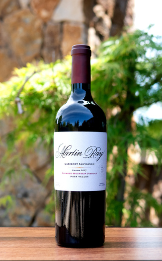 Martin Ray Winery 2017 Diamond Mountain District Cabernet Sauvignon 750ml Wine Bottle