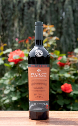 Parducci 2015 'Coro' Certified Mendocino Zinfandel Blend 750ml Wine Bottle