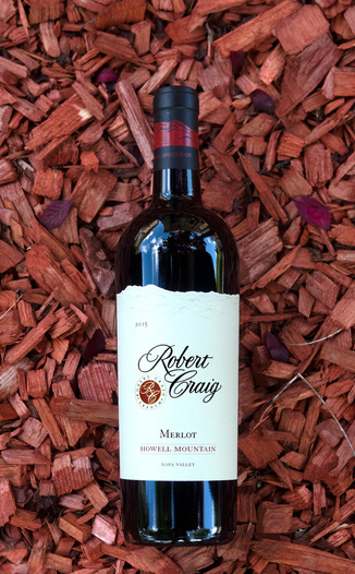 Robert Craig 2015 Howell Mountain Napa Valley Merlot 750ml Wine Bottle