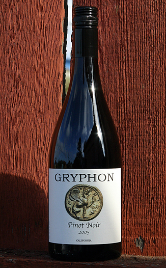 Gryphon Wines 2005 Pinot Noir 750ml Wine Bottle