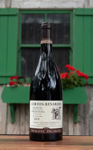 Domaine Marius Delarche 2018 Corton Renardes Vieilles Vignes Grand Cru 750ml Wine Bottle