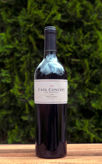 Cain Vineyard & Winery 2012 'Concept' The Benchland Napa Valley Cabernet Blend 750ml Wine Bottle