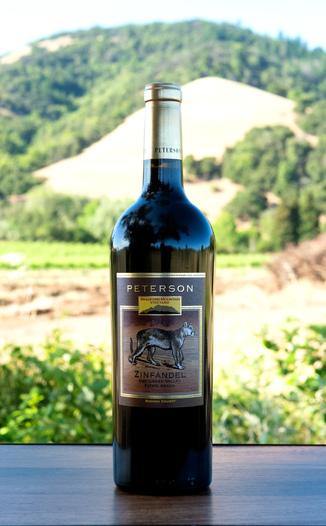 Peterson Winery 2014 Bradford Mountain Estate Vineyard Dry Creek Valley Zinfandel 750ml Wine Bottle