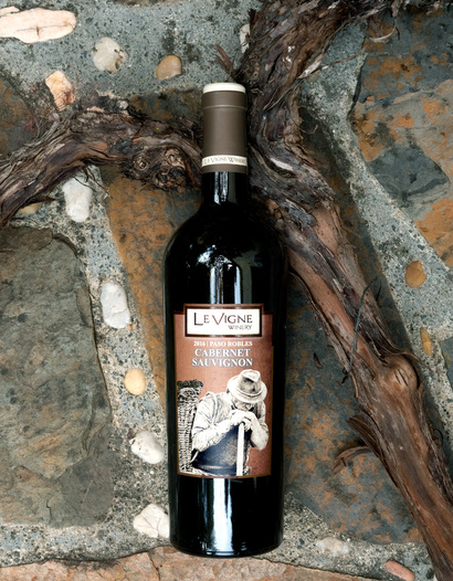 Le Vigne Winery 2016 Paso Robles Cabernet Sauvignon 750ml Wine Bottle