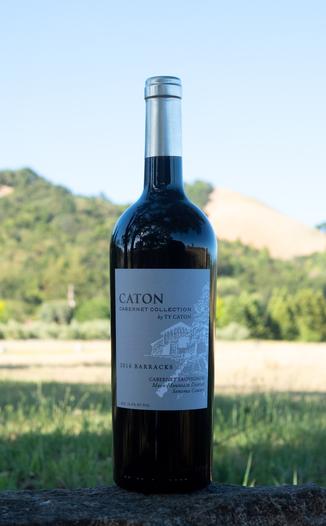 Ty Caton Vineyards 2016 Cabernet Collection 'Barracks' Moon Mountain Estate Cabernet Sauvignon 750ml Wine Bottle