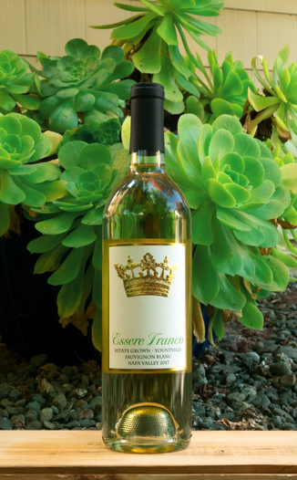 Essere Franco 2017 Yountville Napa Valley Estate Sauvignon Blanc 750ml Wine Bottle