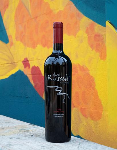 Due Ruscelli Vineyards 2014 'Primitivo' Russian River Valley Zinfandel 750ml Wine Bottle