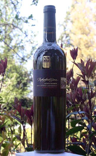 Rutherford Grove 2005 Estate Reserve Cabernet Sauvignon 750ml Wine Bottle