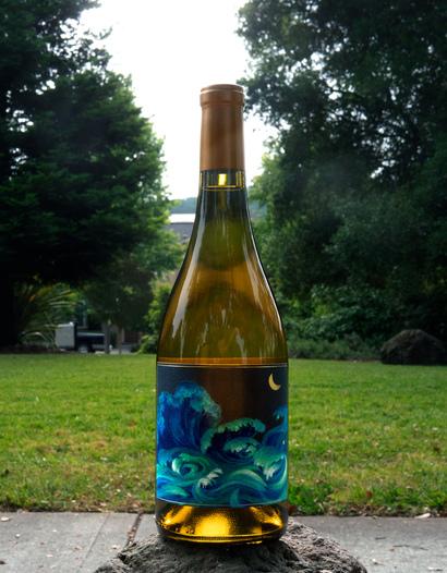 Oceans Churning 2014 Sangiacomo Green Acres Hills Vineyard Chardonnay 750ml Wine Bottle