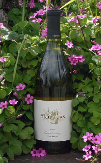 Trinitas Cellars 2007 Carneros Chardonnay 750ml Wine Bottle