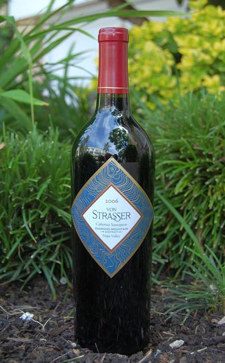 von Strasser Winery 2006 Diamond Mountain Cabernet Sauvignon 750ml Wine Bottle