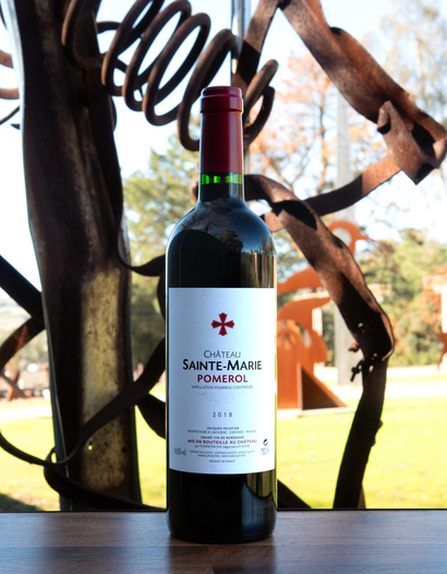 Château Sainte-Marie 2018 Pomerol 750ml Wine Bottle