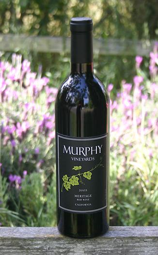 Murphy Vineyards 2005 Meritage 750ml Wine Bottle