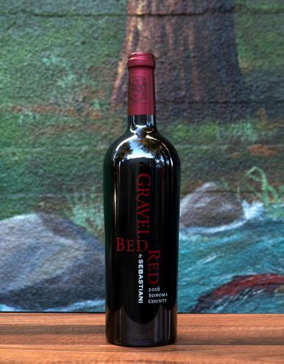 Sebastiani 2016 'Gravel Bed Red' Sonoma Cabernet Blend 750ml Wine Bottle