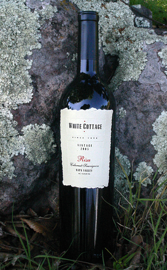 White Cottage Ranch Winery (CLOSED) 2005 'Risa' Cabernet Sauvignon 750ml Wine Bottle