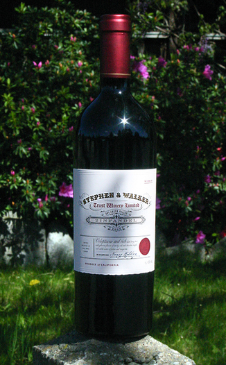Stephen & Walker 2005 Dry Creek Valley Zinfandel 750ml Wine Bottle