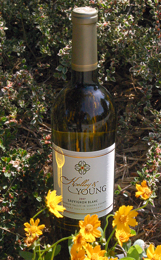 Kelley & Young Wines 2007 Sauvignon Blanc 750ml Wine Bottle