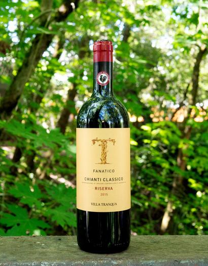 Villa Trasqua 2015 'Fanatico' Chianti Classico Riserva 750ml Wine Bottle