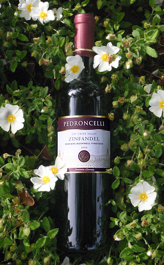 Pedroncelli Winery & Vineyards 2006 Dry Creek Valley Zinfandel 750ml Wine Bottle