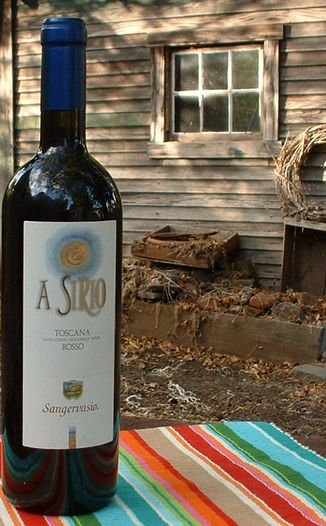Sangervasio 2003 A Sirio 750ml Wine Bottle