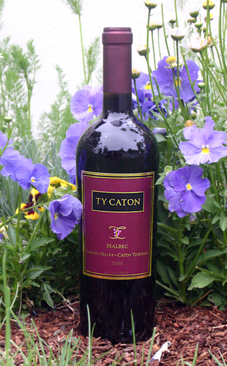 Ty Caton Vineyards 2006 Sonoma Valley Malbec 750ml Wine Bottle
