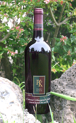 Pezzi King Vineyards 2003 Cabernet Sauvignon/Syrah 750ml Wine Bottle