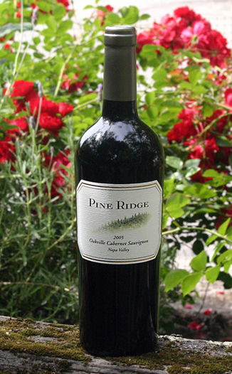 Pine Ridge Vineyards 2005 Oakville Cabernet Sauvignon 750ml Wine Bottle