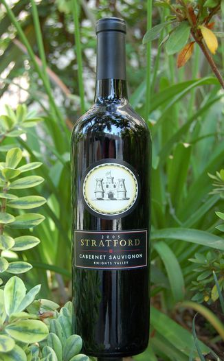 Stratford Winery 2005 Knights Valley Cabernet Sauvignon 750ml Wine Bottle
