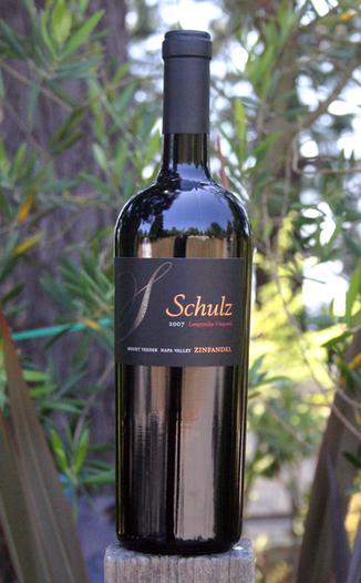 Schulz Cellars 2007 Lampyridae Vineyard Zinfandel 750ml Wine Bottle