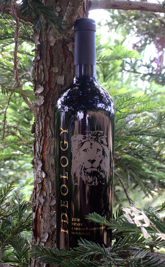 Ideology Cellars 2006 Estate Cabernet Sauvignon 750ml Wine Bottle