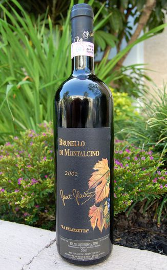 La Palazzetta 2001 Brunello di Montalcino DOCG 750ml Wine Bottle