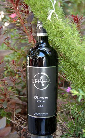 Urraca Vineyards 2005 Primera Reserva 750ml Wine Bottle