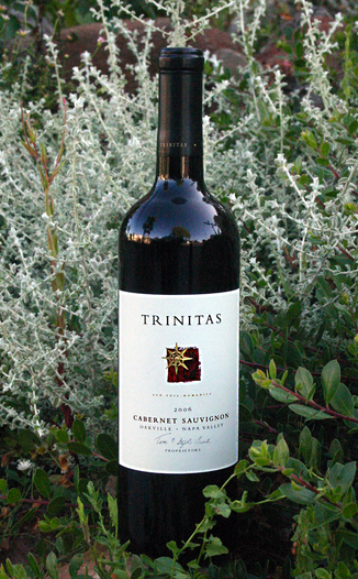 Trinitas Cellars 2006 Napa Valley Cabernet Sauvignon 750ml Wine Bottle & Trinitas Cellars 2006 Napa Valley Cabernet Sauvignon Review