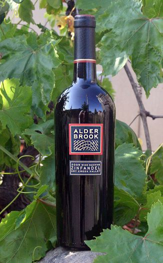 Alderbrook Winery 2005 Wind Machine Zinfandel  750ml Wine Bottle