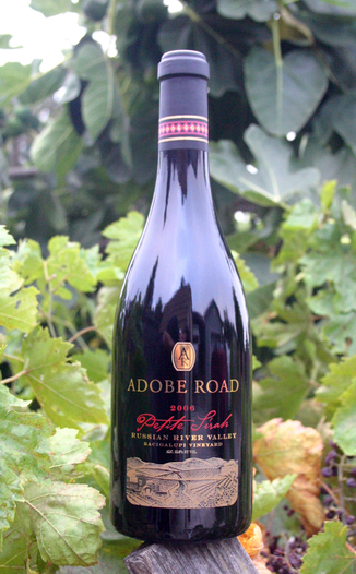 Adobe Road 2006 Russian River Valley Petite Sirah 750ml Wine Bottle